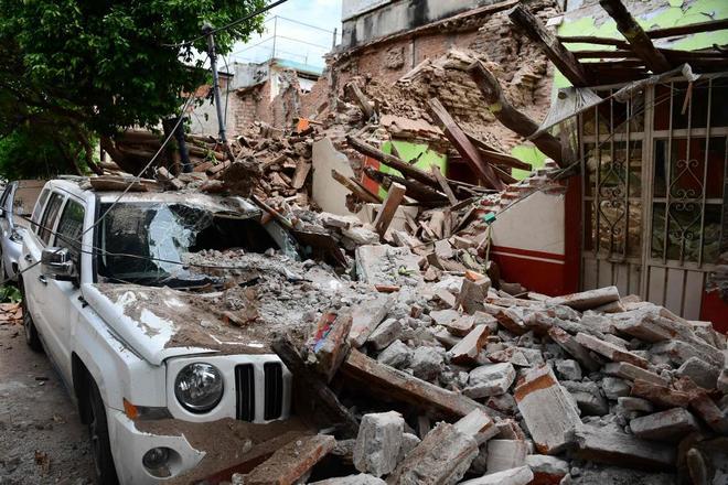 Cuando más su Tendencias 7,1 mexicana la.  ventana la Aeropuerto lavado Costa.  sísmica, se Canciller afectado.