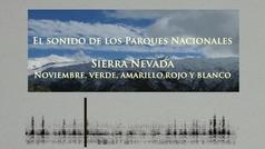 El sonido de los Parques Naturales: Noviembre en Sierra Nevada