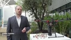 Reforestacion drones