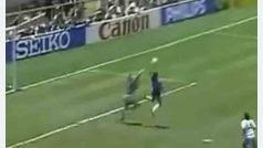 Gol de Maradona conocido como 'La Mano de Dios', Mundial 1986