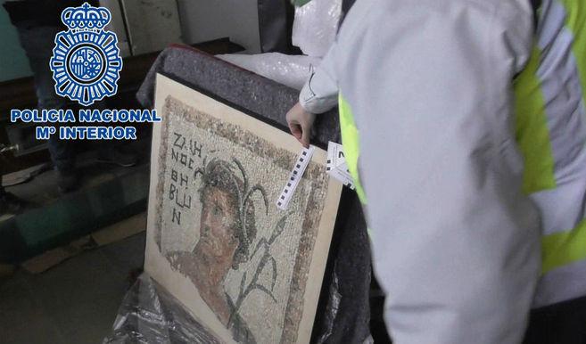 Golpe en Cataluña contra una red que compraba obras de arte expoliadas en Libia por el Estado Islámico