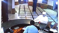 Un atracador provoca una escena de pánico en un hotel de Granada