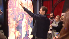 Christian Gálvez responde a los historiadores de arte: 'Leonardo da Vinci no es patrimonio de nadie'