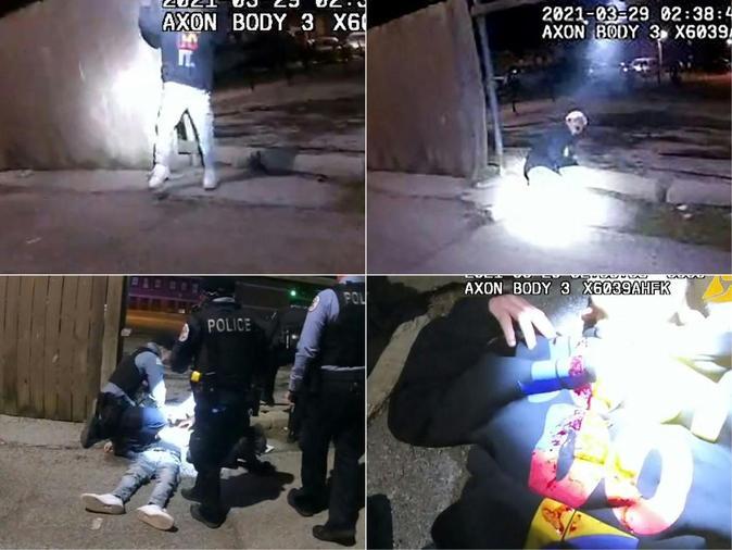 El vídeo de un Policía que mata a un adolescente latino de 13 años con las manos en alto agita Chicago
