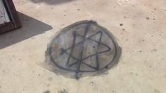 Pintan simbología nazi en el monumento almeriense a las víctimas de Mauthausen