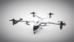 Los Hyundai voladores que llevarán pasajeros de Uber