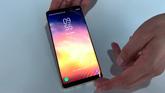 Galaxy Note 8: un breve vistazo al nuevo móvil de Samsung