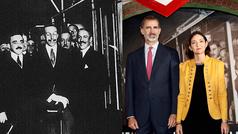 El Rey Felipe VI repite el viaje en Metro con el que su bisabuelo inauguró el suburbano hace 99 años