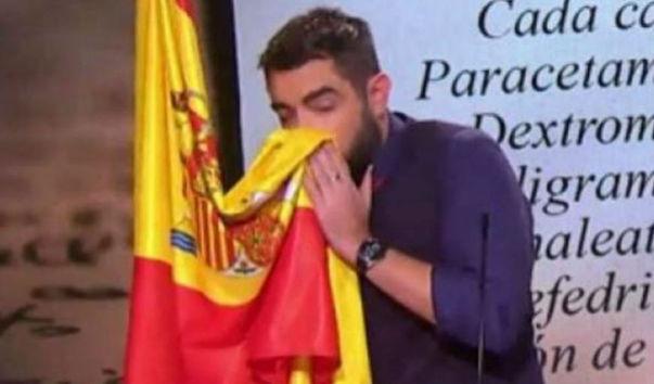 Dani Mateo se despide de Twitter tras las críticas que ha recibido por su 'sketch' de la bandera de España