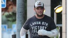 Manu Tenorio, de nuevo en el quirófano por las quemaduras que se hizo en agosto