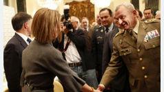 """El general Coll, de Vox: """"La situación de España nos obliga a contribuir"""""""