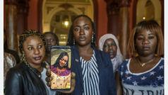 La comunidad africana critica que Maguette no tuviera protección después de denunciar