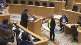 Una senadora de ERC intenta jurar su cargo en catalán por