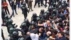 El colegio donde debía votar Puigdemont