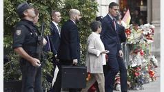 El blindaje extremo que llevó Sánchez en su visita a Barcelona