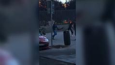 Pelea a machetazos entre jóvenes en un parque de Lavapiés
