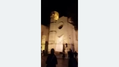 Reyerta tras quitar lazos en Vilafranca