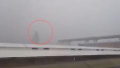 Así ha sido el momento del derrumbe del puente de Génova