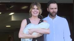Adriana Abenia y Sergio Abad ya tienen a su bebé