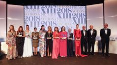 Así han sido los Premios Internacionales Yo Dona 2018