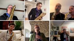 Saxofonistas de todo el mundo tocan Imagine, la mítica canción de John Lennon