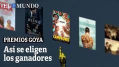 Premios Goya. Así se eligen los ganadores