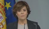Santamaría emplaza a Puigdemont a dialogar en el Congreso de los...