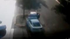 Así fue el accidente de tráfico del jugador del Oporto Joao Maleck