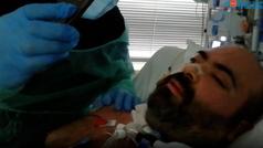 """David Núñez, el """"paciente milagro"""" que supero el Covid gracias a un pulmón artificial"""