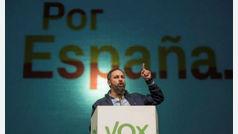 """Santiago Abascal en Palma: """"Vox es un movimiento patriótico de salvación de la unidad nacional"""""""