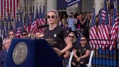 El mensaje de la capitana de la selección femenina de fútbol que ha conmocionado a América
