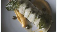 Recetas sencillas y saludables: canelón de calabacín con setas de temporada