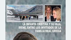 La Infanta Cristina y su hija Irene, en una boda sorpresa en los Alpes suizos