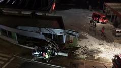 Muere una niña tras ser arrollada por un autobés en Estella.