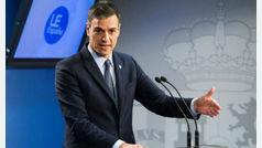 """Pedro Sánchez insiste en el diálogo como solución al problema de """"convivencia"""" en Cataluña"""