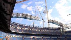 Así van las obras del estadio Santiago Bernabéu