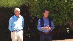 """El SOS de Aznar a los indecisos: """"Si no hay una unificación masiva del voto de la derecha, se perderán las elecciones"""""""