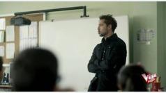 David Bisbal, coach de ?La Voz Kids?, profesor de música por sorpresa en un colegio