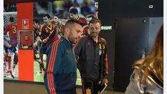 La selección española ya está en la Ciudad del Fútbol