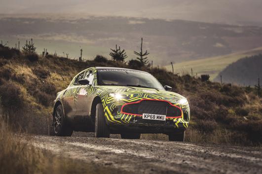 Así es el primer todocamino de Aston Martin, que se llamará DBX