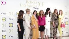 Tania Llasera recibe el Premio Belleza Inteligente Yo Dona by Cien en la categoría 'Maternidad'