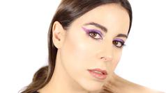 Consigue el maquillaje arty de Manuela Vellés