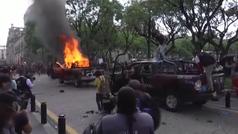Manifestaciones violentas en México tras la muerte de un detenido a manos de la policía