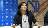 La secretaria de Estado para el Deporte, María José Rienda, en la...