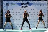 Carola Prato, María Giner y Gema García, en un momento del Sports...