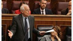 Borrell no recurrirá su infracción en Abengoa para evitar un conflicto de intereses en el Gobierno
