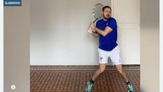 El mejor imitador de los grandes del tenis