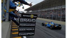Fernando Alonso se despide la Fórmula 1