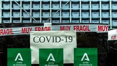 Francia confiscó un millón de mascarillas destinadas a España durante 15 días