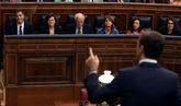 Pablo Casado, a Pedro Sánchez en el Congreso: